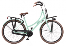 Avalon Cargo D50cm. Kleur: Turquoise. Uitvoering: Shimano R3/Remnaaf. Met oa: Aluminium frame,